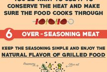 Infographics / Our meat-related infographics: grilling, barbecue, smoking meat...