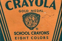 My Vintage Crayon and Paint Sets! / by Beth Pyles
