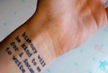 Tattoo Ideas / Just tinkering around... / by Jillian Ryan