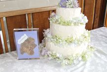 Wedding Cakes by Tricia of Whistler Wedding Planners / My sister Tricia Marshall Field is our pastry chef her cakes taste as good as they look !