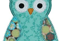 Embroidery & Applique - Designs, drawings etc / by Julie Lawrence