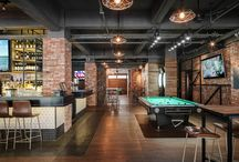 Sport clubroom