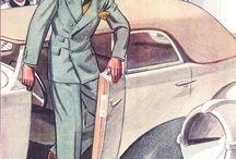 Ilustrații vintage
