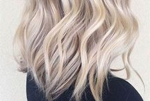 длинные волосы и цвет