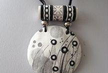 Polymer clay jewelry- objects