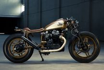 Cafe racer project / Modificare Honda cx 500 a cafe racer