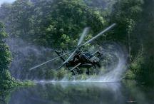 Apache & Blackhawks / by Carl Pratt