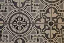 Patterned Tiles / On trend patterend tiles for sale in our Showroom - Tom Doyles, Supplies, Camolin, Co. Wexford, Ireland www.halotiles.ie