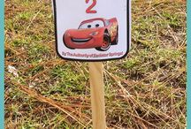 Lightning McQueen Birthday Party