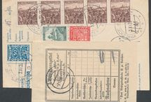 Stamps, Germany, German Occupation II Worldwar
