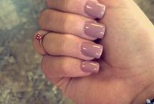 Gel acrylic nails