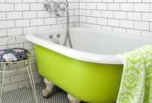 Bathroom inspiration / by Judy Pink .
