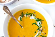 Soulful soups / Warm the soul with the delicious soup recipes
