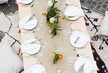 • tablescapes  • / Table settings