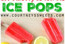 Frozen Treats / Frozen recipes including ice cream, sorbet and ice pops