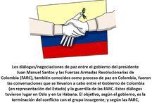Bitácora Paz en Colombia / Tareas