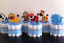 babu shower safari!!