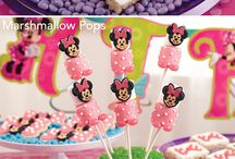 Averie's birthday party / Minnie Mouse theme