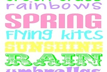 Seasons...Spring time and Easter