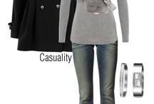Winter fashion / Keep warm while looking good