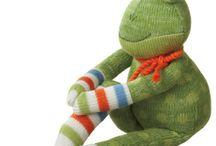 Frosch Puppen nähen