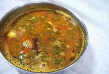 Sambar and Rasam Recipes