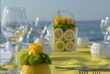 Summer table settings / Inspirations for table settings in summer