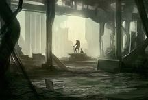 Post Apocalyptic Environments
