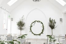 White and Grey Wedding Inspiration