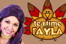 Thanksgiving Video Thumbnails! / Thumbnails for my Thanksgiving Videos! / by Tea Time with Tayla