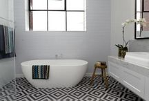 Bathroom ideas / Bathroom designs and colour schemes