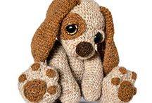 Amigurumi / Crocheted stuffed toys. Too cute!!!!