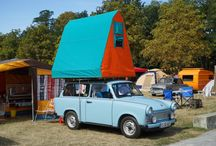 Strange Tents and Caravans / The weird and wonderful tents and tourers..!