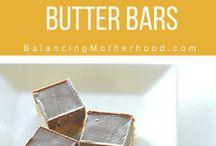 Chocolate peanut butter bars..no bake