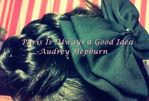 Hair Do's / Medium Hair, Bobby Pins, Flowery Bowy Clips, Hair Braid!