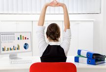 Office Workouts / Exercises to do at your desk!