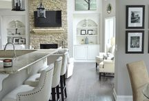 Living Room Dreams are Made of These / Great room and living room decor and design - ideas and inspiration from furniture placement to architectural detail.
