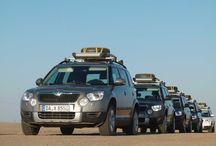 Test Skoda Yeti. Namibia 2012