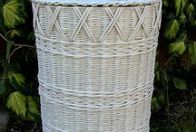 Идеи декора в плетении из газет