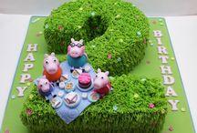 Grace 2nd birthday cake
