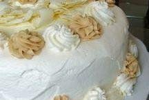 Receitas bolos básicos e recheados