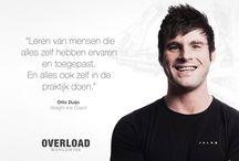 Overload Worldwide Ervaringen / De verschillende opleidingservaringen van onze deelnemers aan het Overload Certification Program.
