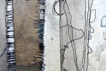 abstract art textile