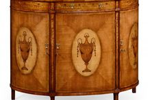 Jonathan Charles Cabinets by Swanky Interiors / Jonathan Charles cabinets, secretaire cabinets, drink cabinets