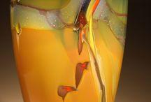 Beautiful glass objects