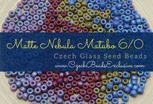 6/0 Matubo Czech Glass Seed Beads: Tutorials, Patterns, Inspirations
