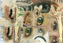 asha zero paintings / collection of asha zero paintings