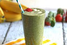 Oppskrifter for grønne smoothier