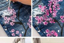 DIY jeans colour