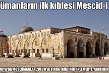Müslümanların ilk kıblesi Mescid-i Aksa